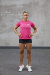 tåhäv - övning för blandat annat knät